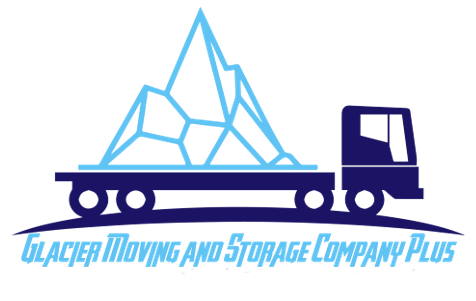 Glacier Moving and Storage Plus Logo